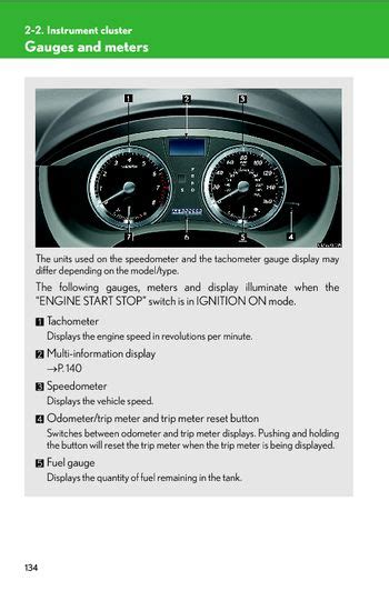 download car manuals 2010 suzuki kizashi instrument cluster download 2010 lexus es350 instrument cluster pdf manual 11 pages