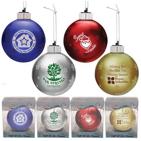 light up glass ornament