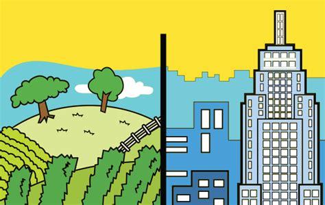 imagenes de zonas urbanas para niños zona urbana e zona rural trabalhos escolares smartkids