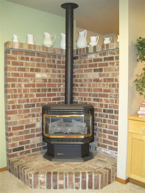 Propane Freestanding Fireplace by What Can I Do With This Free Standing Fireplace And