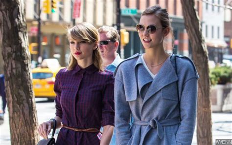 taylor swift karlie kloss nashville karlie kloss and taylor swift debunk feud rumors by
