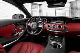 Mercedes S Class Interior Photos 2015 Mercedes S Class Coupe Features And Specs