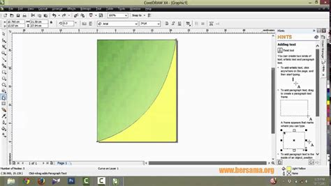 desain grafis corel draw x3 tutorial corel draw membuat cover buku sederhana youtube