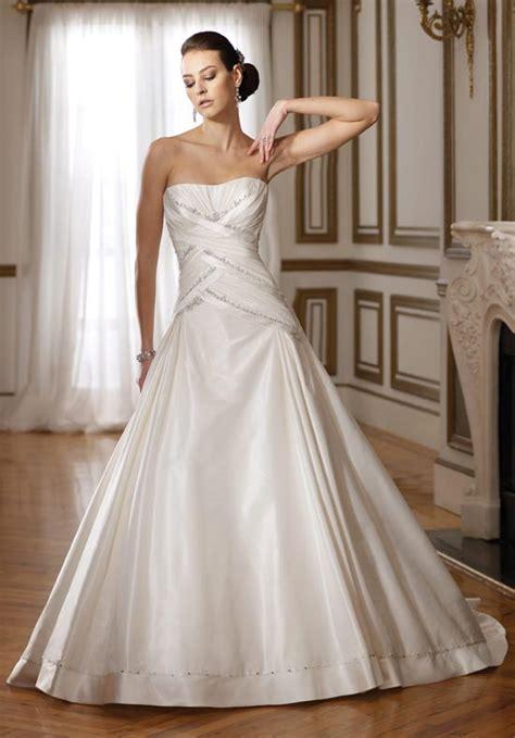Dropped Wedding Dress by Drop Waist Wedding Dress Dressed Up