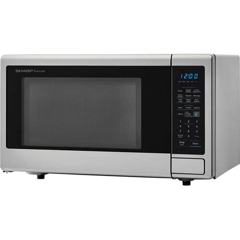 Microwave Countertop Oven by Toshiba 0 9 Cu Ft Stainless Steel Countertop Microwave