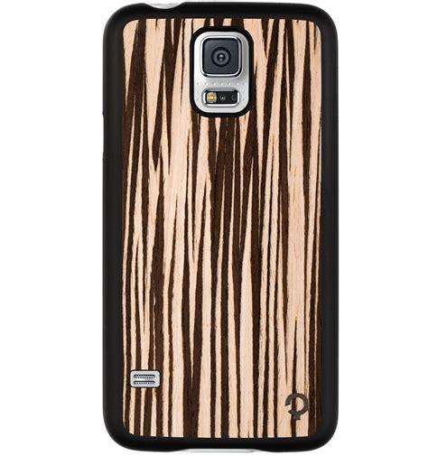 Wood Samsung Galaxy S5 wooden samsung galaxy s5 premium zebrano plantwear