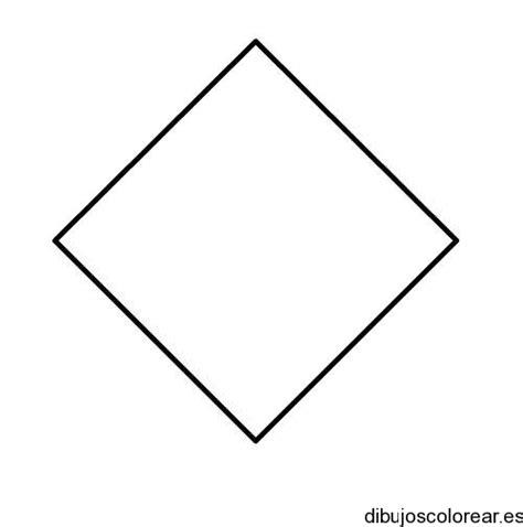 figuras geometricas un rombo figuras geometricas rombo para colorear imagui