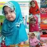 Segiempat Shaby Tassel sentral grosir jilbab kerudung i supplier jilbab i