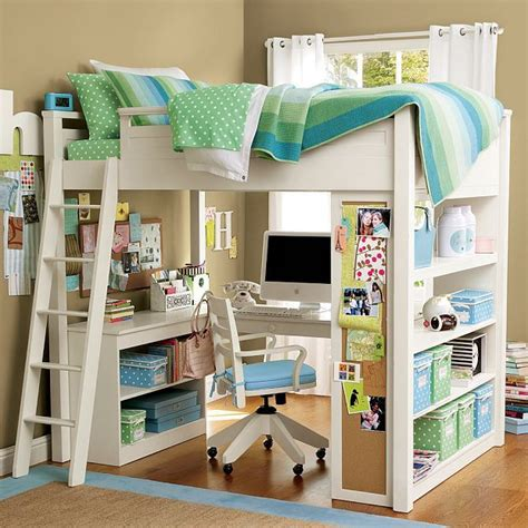 Loft Bed With Underneath by How To Build A Loft Bed With Desk Woodworking