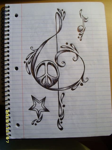 love music tattoo designs diggin the design of this note cool images tattoos