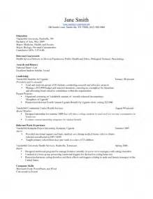 Resume Exles For Teenagers by Resume Exles For Teenagers Free Resume Templates
