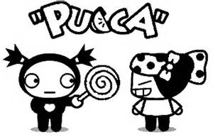 dibujos colorear pucca pucca funny love plantillas colorear pucca pucca funny
