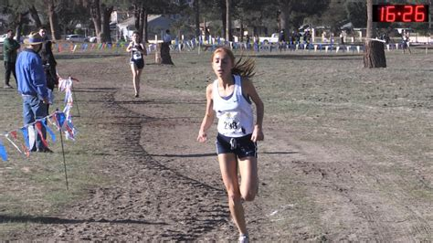 cif southern section cross country 2016 xc cif ss finals 4 div 5 girls youtube
