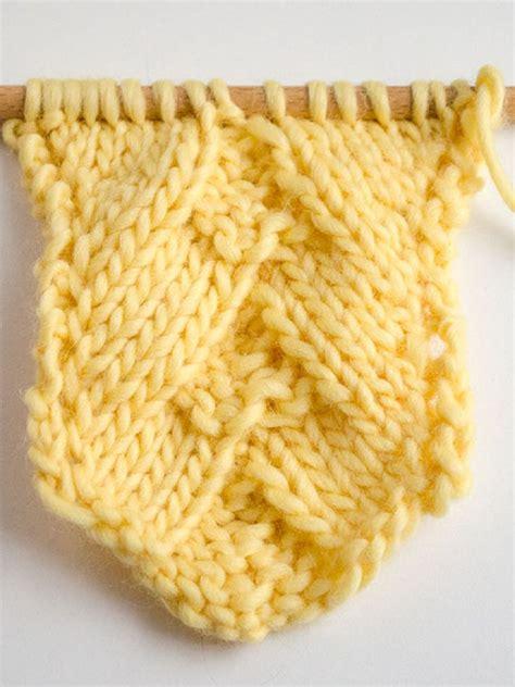 knitting tutorials how to knit german herringbone stitch stickat
