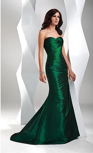 Jv Dress Forest Fit L cheap forest green sheath sweetheart ruched bodice taffeta