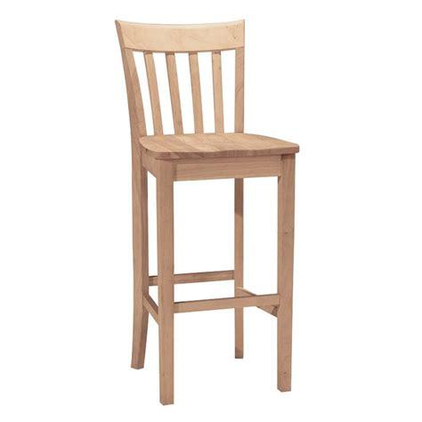shaker kitchen bar stools shop international concepts mission shaker bar