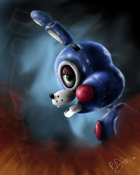 painting fnaf fnaf bonnie 2 0 speed painting by reillyington86 on