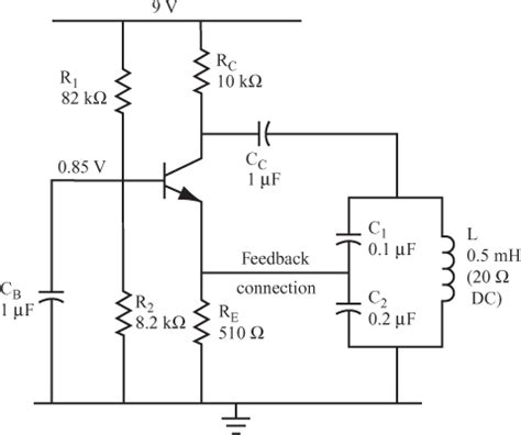 colpitts oscillator capacitor values colpitts oscillator capacitor values 28 images lc feedback oscillator index 42 oscillator