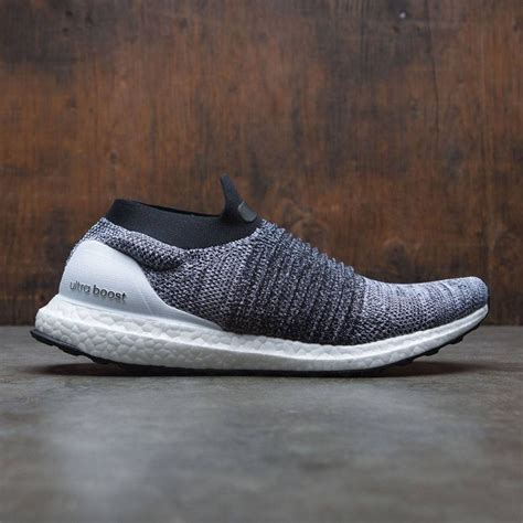 adidas laceless adidas men ultraboost laceless white footwear white core black