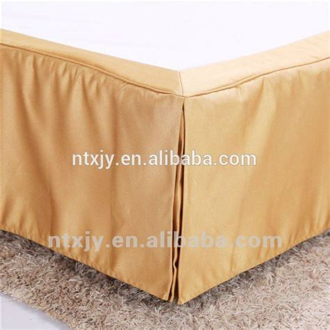 fitted bed skirt hotel use decorative jacqurd king size bed skirt buy