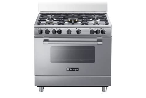 tecnogas cucine catalogo pp965mx pp965 inox gas elettrico stile pro cucine
