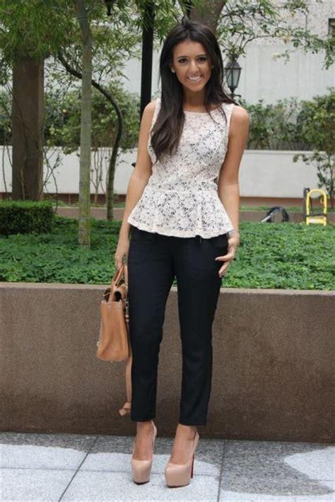 I New Peplum Desire In White blusa peplum dicas e inspira 231 245 es de looks