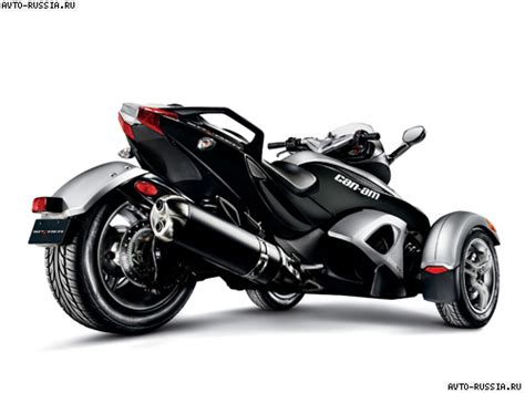 spyder brp мотоцикл brp spyder st цена технические характеристики