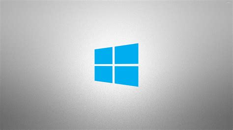 wallpaper windows grey windows 10 simple blue logo on grainy gray wallpaper