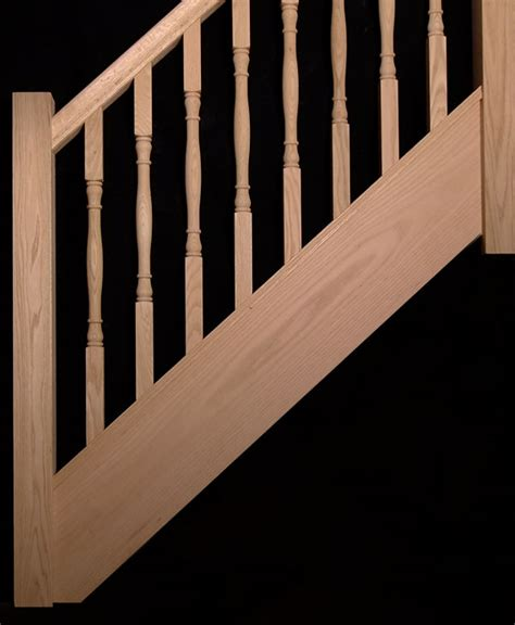 oak banister oak stair spindles images