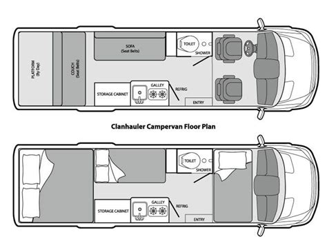 mercedes sprinter floor plan 627 best cing images on pinterest gypsy caravan