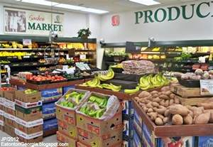 Grocery Store by Eatonton Putnam Co Restaurant Dr Hospital Bank Church Attorney City Dept