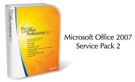 microsoft office 2007 enterprise with service pack 2