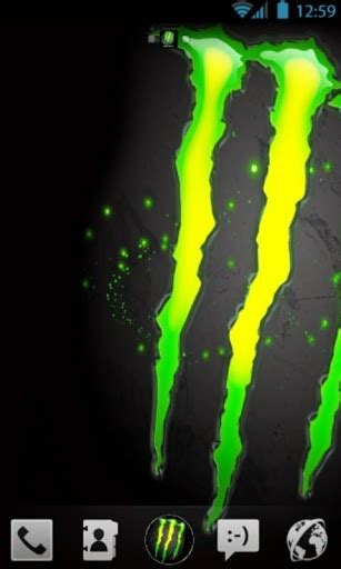 theme line android monster download monster energy theme beautiful for android appszoom