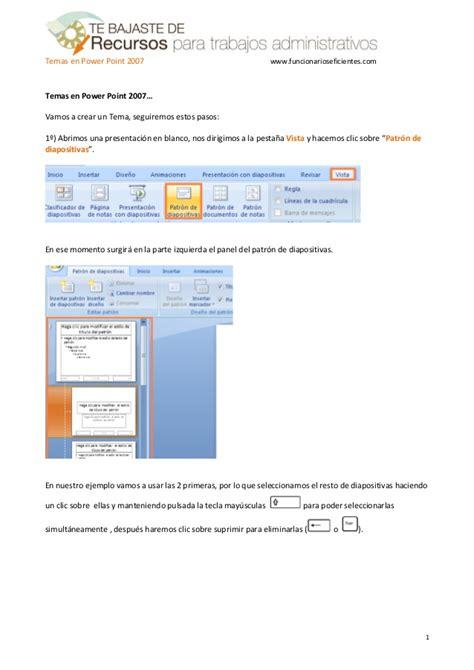 tutorial para hacer powerpoint como crear una plantilla o tema en powerpoint 2007