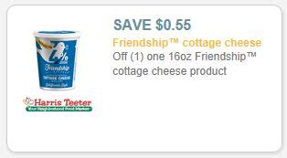 Friendship Cottage Cheese Coupon new friendship cottage cheese coupons harris teeter