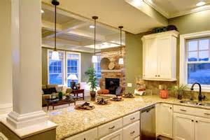interior photos of the cottage and towne model