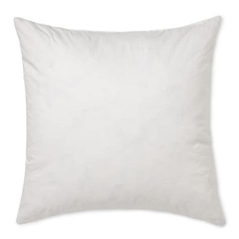 18 Pillow Insert by Williams Sonoma Synthetic Decorative Pillow Insert 18 Quot X