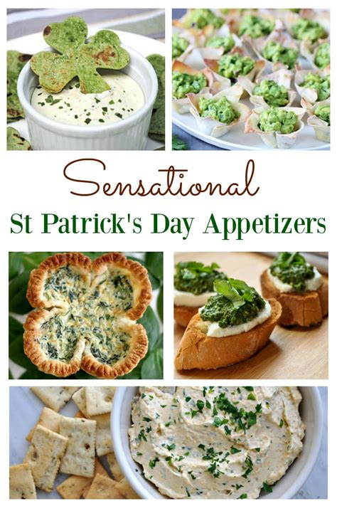 delicious st patrick s day appetizers