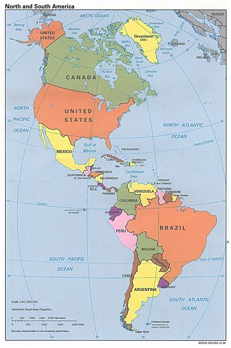 map america maps of america and american countries political maps administrative and road