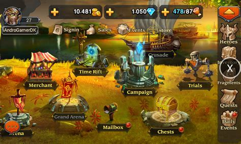 mod game heroes charge tutorial heroes charge 1 5 1 xmodgame android and