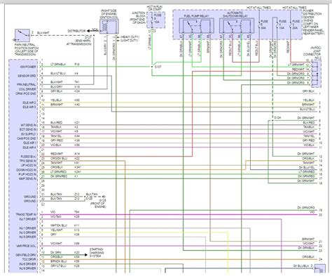 2000 dodge ram 3500 pcm wire diagram 40 wiring