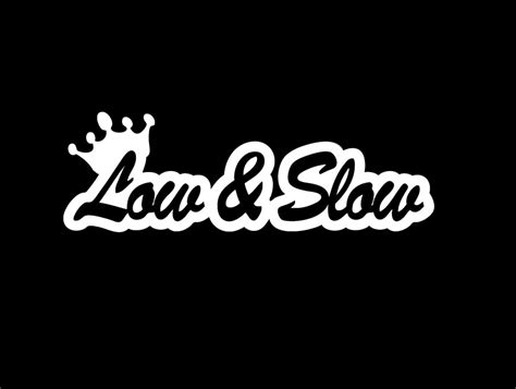 Jdm Sticker low and crown jdm vinyl decal stickers