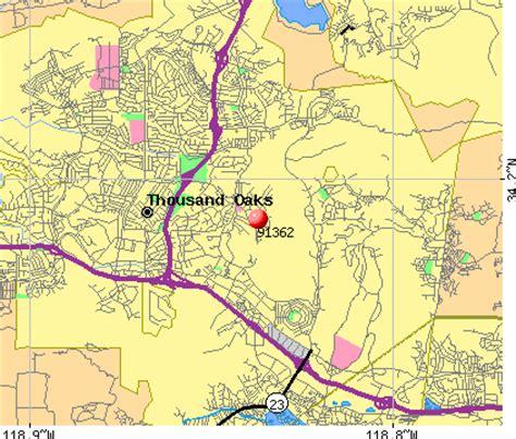 maps thousand oaks 91362 zip code thousand oaks california profile homes