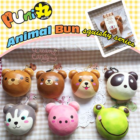 a squishy store near me new puni maru licensed animal buns