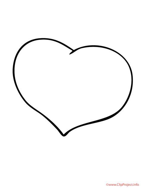 Kostenlose Vorlage Herz Malvorlage Herz