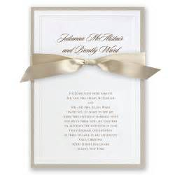 sophisticated border invitation invitations by