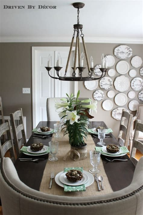 Kitchen Table Centerpiece Ideas For Everyday by Simple Natural Easter Table Decorations Driven By Decor