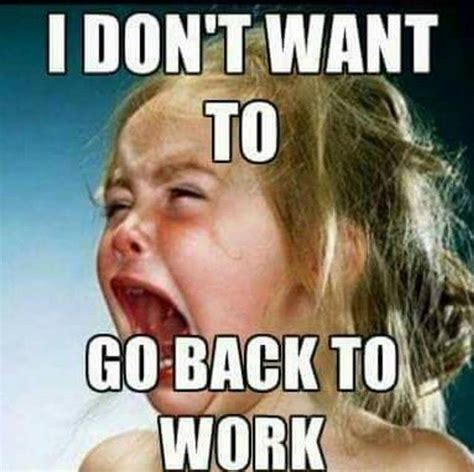 Going Back To Work Meme - 25 best ideas about work tomorrow on pinterest tomorrow