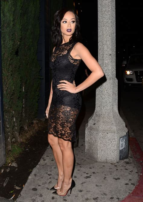 draya michele 2014 draya michele at ok magazine s pre oscar party in west