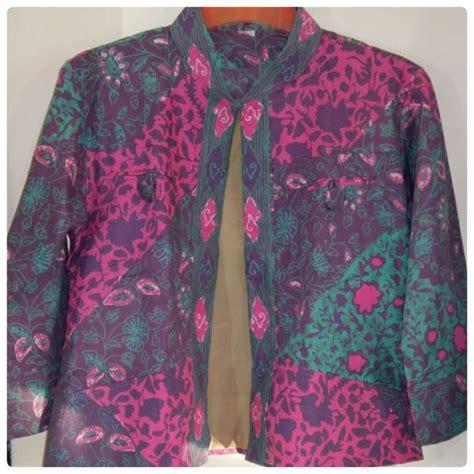 Anisa Batik Blazer Batik Anissa Siddi Batik My Batik